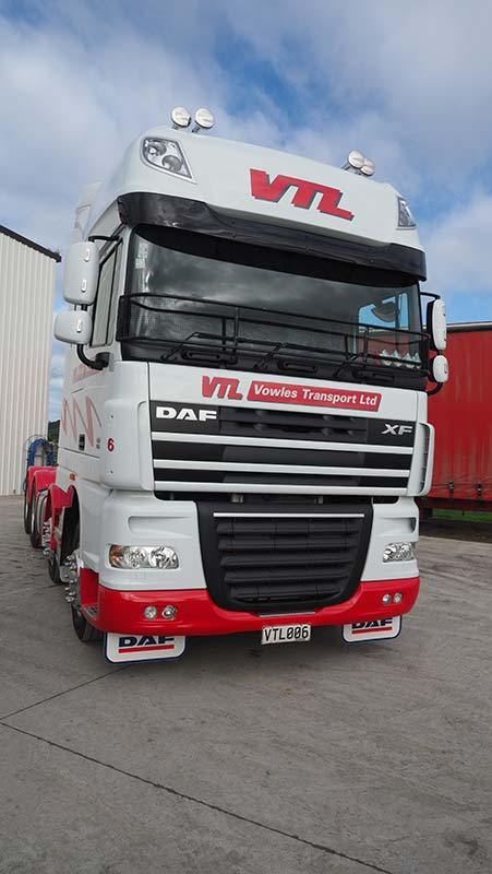 Vowles Transport - News - New DAFS join the Vowles Transport high productivity fleet